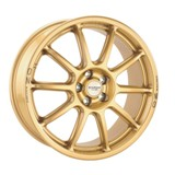 P-WRC1 7.5x18 ET46 5x100 Rally Gold